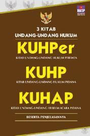 Cover 3 Kitab Undang-undang Hukum,KUHper, KUHP, KUHAP oleh