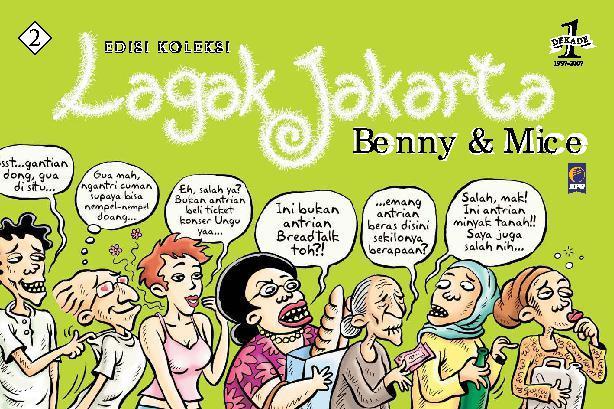 Buku Digital Lagak Jakarta Edisi Koleksi 2 oleh Benny Rachmadi dan Muhammad Misrad