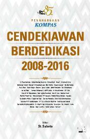 Cover Penghargaan Kompas CENDEKIAWAN BERDEDIKASI 2008-2016 - 85 Tahun Jakob Oetama oleh St Sularto