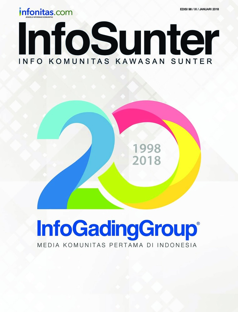 Majalah Digital InfoSunter Januari 2018