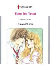 TIME FOR TRUST by Penny Jordan Cover