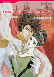 A ROYAL BRIDE AT THE SHEIKH'S COMMAND by Penny Jordan Cover