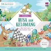 Cover Seri Cerita Rakyat 34 Provinsi : Rusa dan Kelomang (Billingual book) oleh