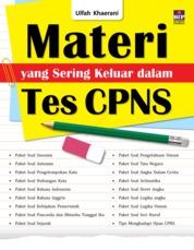 Cover Materi yang Sering Keluar dalam Tes CPNS oleh