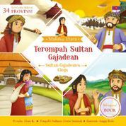 Cover Seri Cerita Rakyat 34 Provinsi : Terompah Sultan Gajadean (Billingual book) oleh
