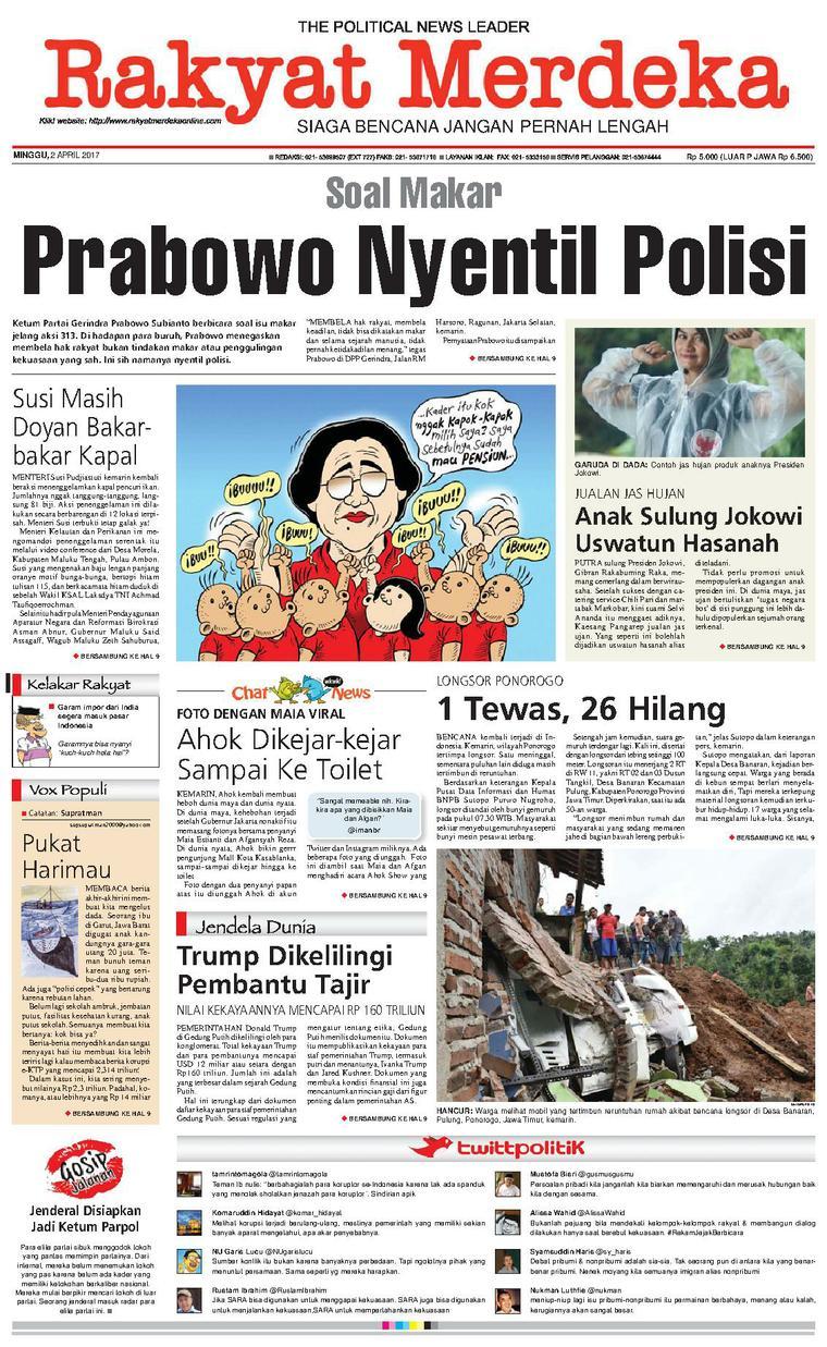 Koran Digital Rakyat Merdeka 02 April 2017