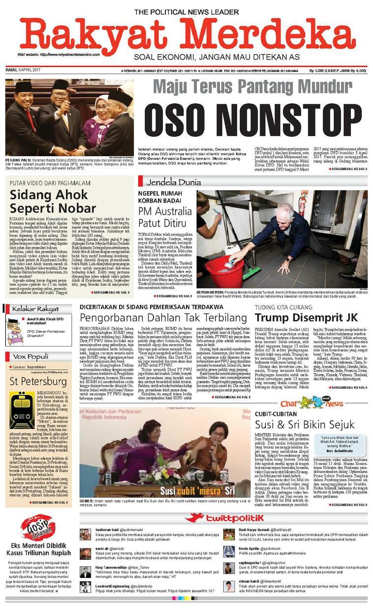 Koran Digital Rakyat Merdeka 05 April 2017