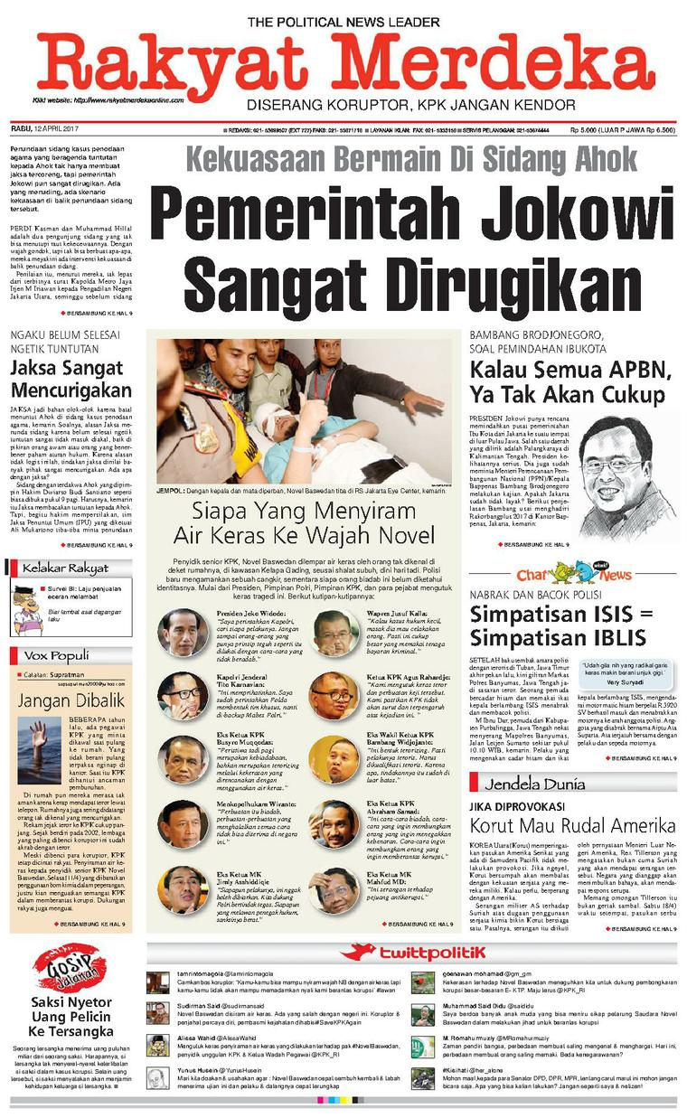 Koran Digital Rakyat Merdeka 12 April 2017