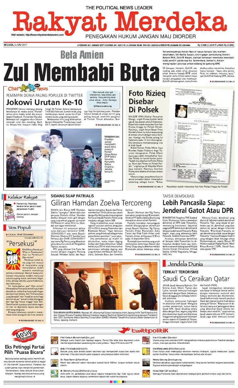 Koran Digital Rakyat Merdeka 06 Juni 2017