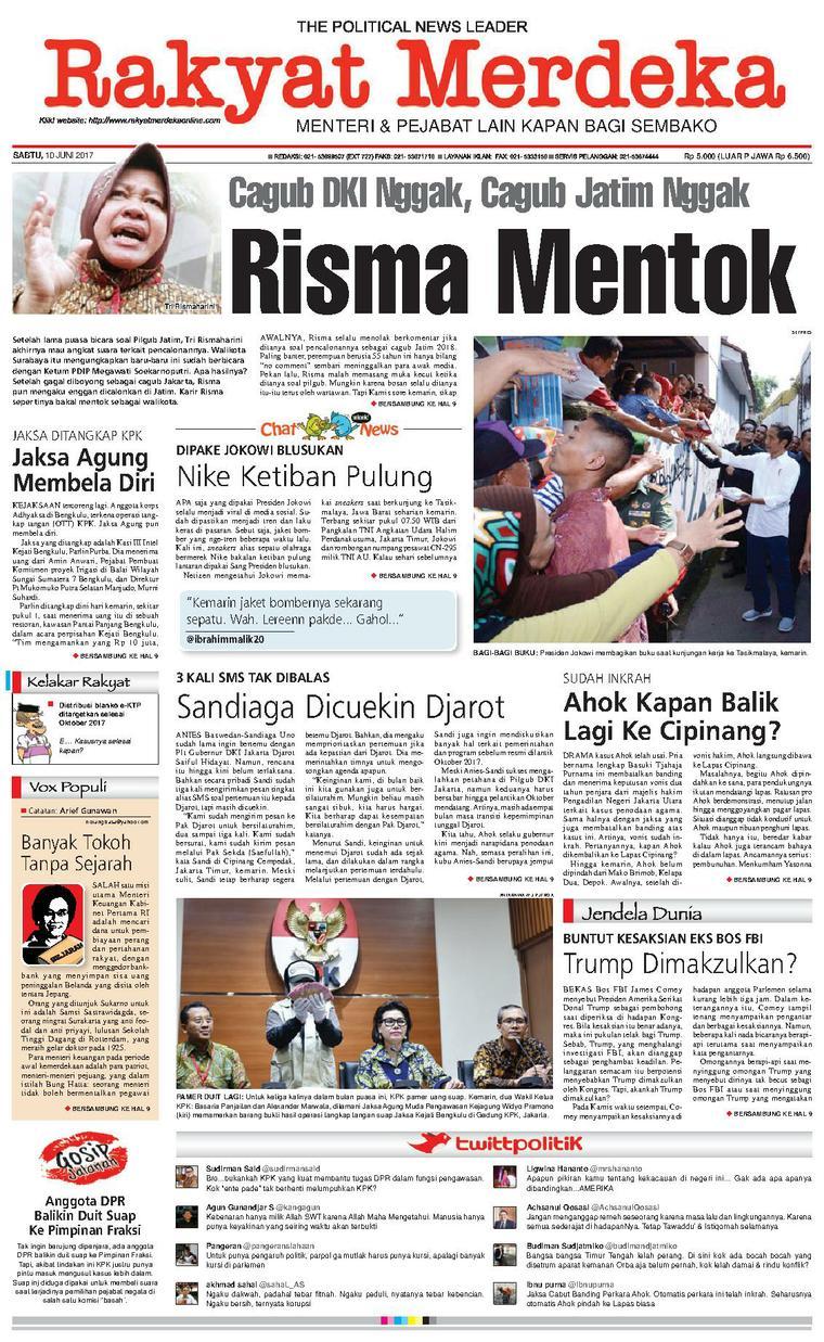 Koran Digital Rakyat Merdeka 10 Juni 2017