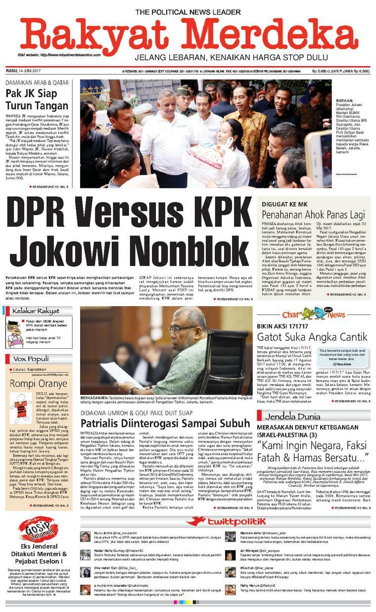 Koran Digital Rakyat Merdeka 14 Juni 2017