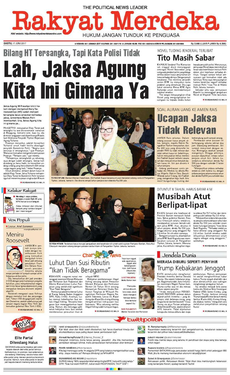 Koran Digital Rakyat Merdeka 17 Juni 2017