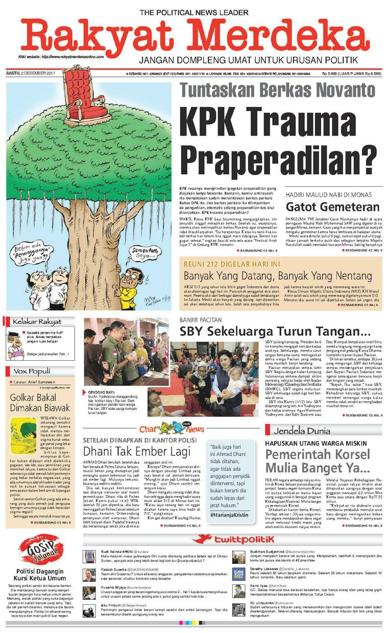 Koran Digital Rakyat Merdeka 02 Desember 2017