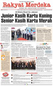 Rakyat Merdeka Cover 04 February 2018
