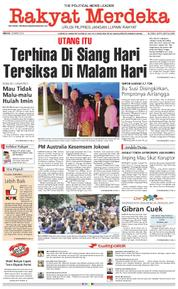 Rakyat Merdeka Cover 18 March 2018
