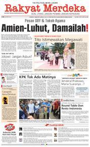 Cover Rakyat Merdeka 22 Maret 2018