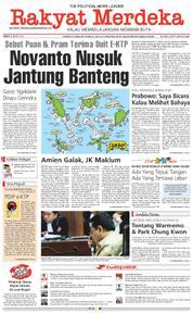 Cover Rakyat Merdeka 23 Maret 2018