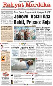 Cover Rakyat Merdeka 24 Maret 2018