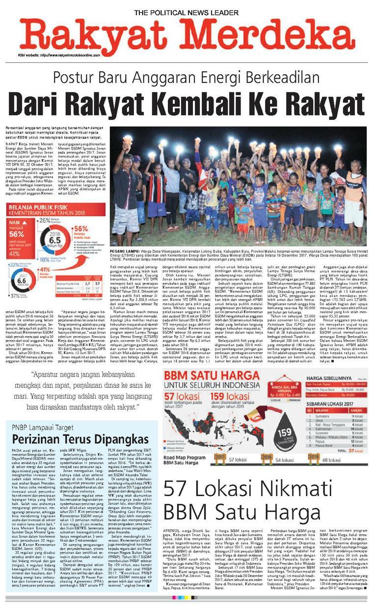 Koran Digital Rakyat Merdeka 09 Februari 2018