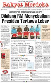Rakyat Merdeka Cover 10 February 2018