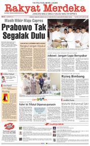 Rakyat Merdeka Cover 11 February 2018