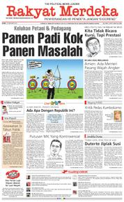 Rakyat Merdeka Cover 12 February 2018