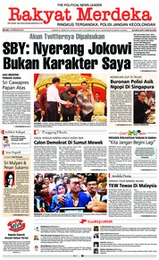 Rakyat Merdeka Cover 13 February 2018
