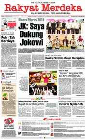 Rakyat Merdeka Cover 14 February 2018