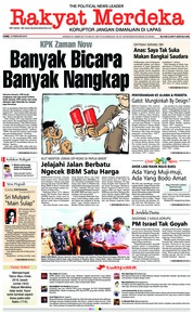 Rakyat Merdeka Cover 15 February 2018