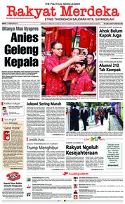 Rakyat Merdeka Cover 17 February 2018