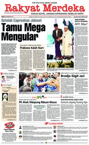 Cover Rakyat Merdeka 25 Februari 2018