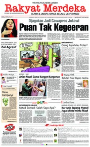 Cover Rakyat Merdeka 26 Februari 2018