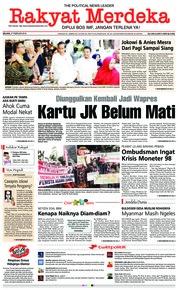 Cover Rakyat Merdeka