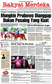 Cover Rakyat Merdeka 12 April 2018