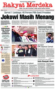 Cover Rakyat Merdeka 17 April 2018