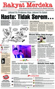 Cover Rakyat Merdeka 19 April 2018