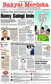 Cover Rakyat Merdeka 23 April 2018