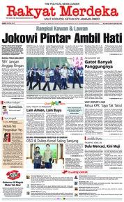 Cover Rakyat Merdeka 26 April 2018