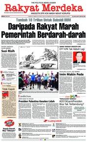Cover Rakyat Merdeka 06 Mei 2018