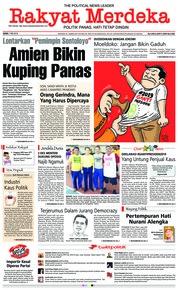 Cover Rakyat Merdeka 07 Mei 2018