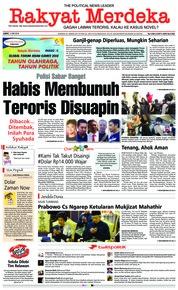 Cover Rakyat Merdeka 11 Mei 2018