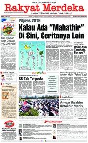 Cover Rakyat Merdeka 12 Mei 2018
