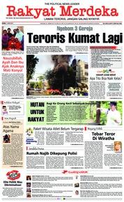 Cover Rakyat Merdeka 14 Mei 2018