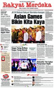 Cover Rakyat Merdeka 16 Mei 2018