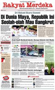 Cover Rakyat Merdeka 17 Mei 2018