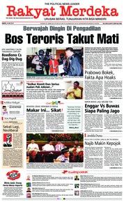 Cover Rakyat Merdeka 19 Mei 2018