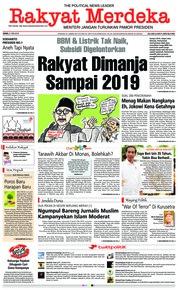 Cover Rakyat Merdeka 21 Mei 2018
