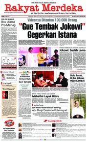 Cover Rakyat Merdeka 24 Mei 2018