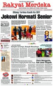 Cover Rakyat Merdeka 26 Mei 2018