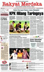 Cover Rakyat Merdeka 06 Juni 2018